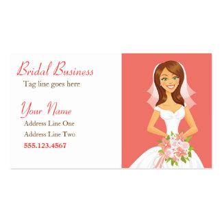 Bridal Character Business Card