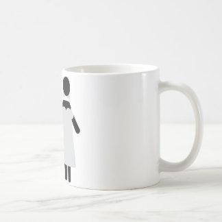 bridal couple icon coffee mug