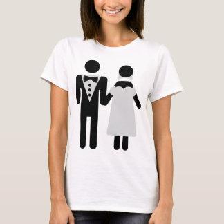 bridal couple icon T-Shirt