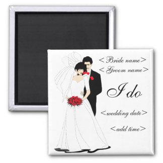 Bridal Couple Magnet