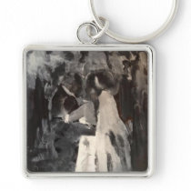 Bridal Dance Painting Key Chain