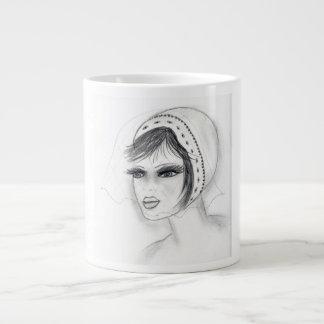 Bridal Deco Girl Large Coffee Mug