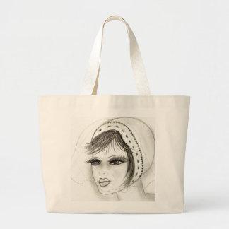 Bridal Deco Girl Large Tote Bag