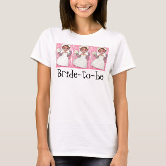 Bridal Fairy & Roses - Bride-to-be t-shirt