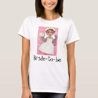 Bridal Fairy & Roses - Bride-to-be t-shirt #2