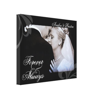 Bridal Forever & Always Add Your Photo Canvas