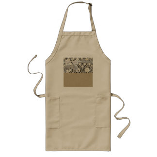 Bridal gifts Lace and Linen Wedding favors Apron
