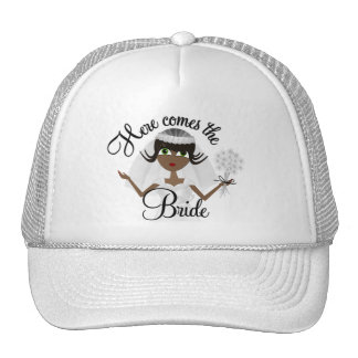 Bridal Hat African - American