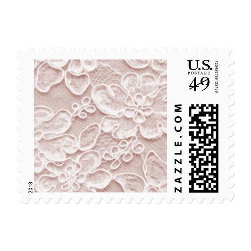 Bridal Lace, Pink Stamps