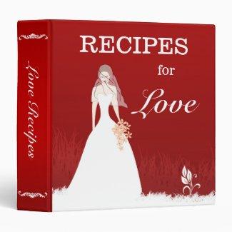 Bridal Love Recipe Binder