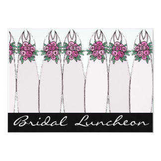 Bridal Luncheon 5x7 Paper Invitation Card