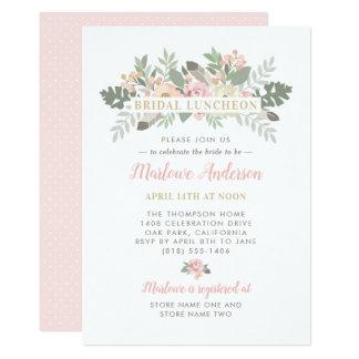 Bridal Luncheon Invitation | Spring Vintage Boho