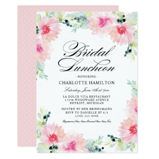 bridesmaids luncheon invitations forte euforic co