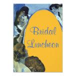 Bridal Luncheon Invites Elegant Chic Vintage Look