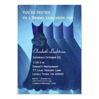 Bridal Luncheon Pretty Bridesmaid Dresses Card