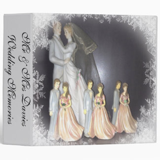 Bridal Memories 3 Ring Binder