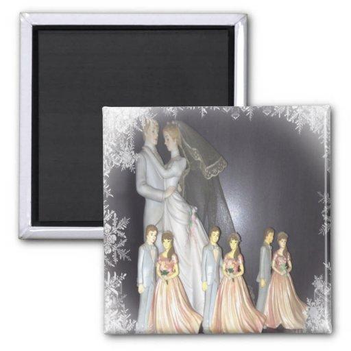 Bridal Memories Fridge Magnet