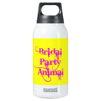 Bridal Party Animal by TroubleShooter Thermos Bottle