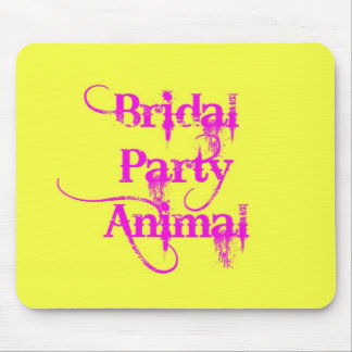 Bridal Party Animal products by TroubleShooter Mouse Pad