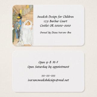 Bridal Party Brudföljet Business Card