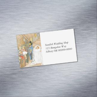 Bridal Party Brudföljet Magnetic Business Card