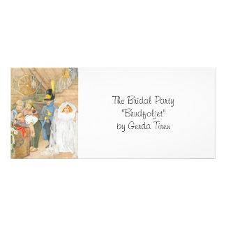 Bridal Party Brudföljet Rack Card