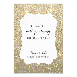 Bridal Party Card - Wedding Day Fab-will you be my