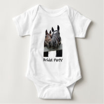Bridal Party Country Wedding Baby Bodysuit