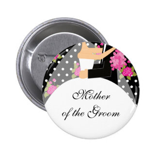 Bridal Party Mother of the Bride Button / Pin