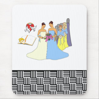 Bridal Party Mouse Pad