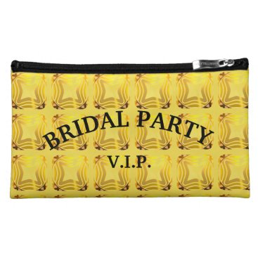Bride Themed Bridal Party V.I.P. Cosmetic Bag