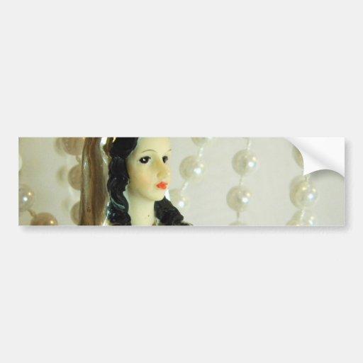 Bridal Pearls Bumper Sticker
