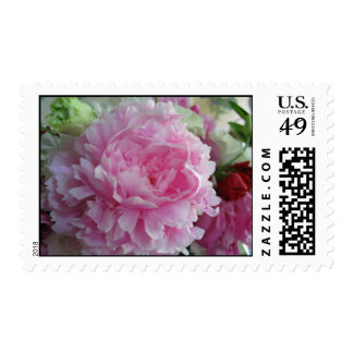 Bridal Peony Bouquet Stamps