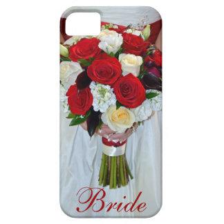 Bridal rose bouquet iphone 5 case