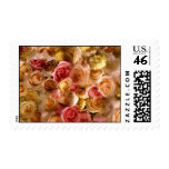 Bridal Roses For Shower or Wedding Invitations Postage Stamp