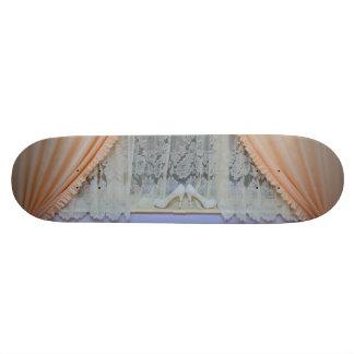 Bridal shoes skateboard deck