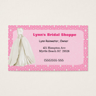 Bridal Shop Business Card
