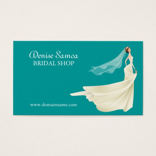 Bridal Business Card Template