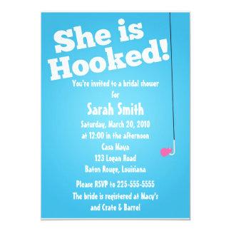Bridal Shower 5x7 Paper Invitation Card