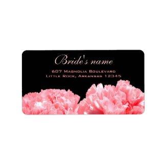 Bridal Shower Address Label