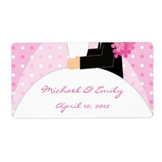 Bridal Shower and Wedding Favor Labels