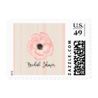Bridal Shower Anemone Stamp