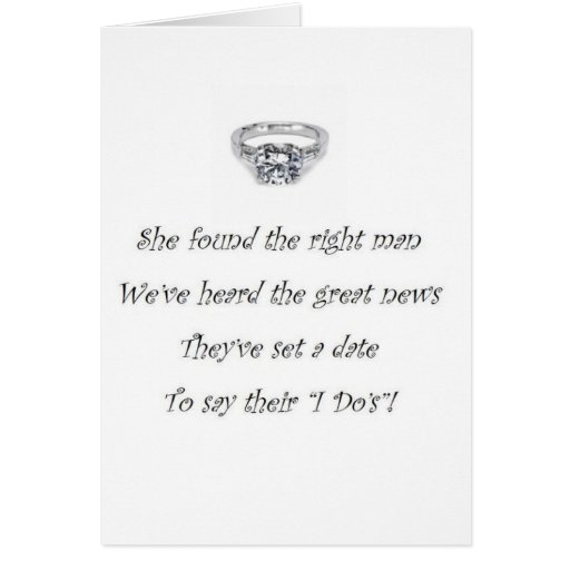 Bridal Shower Gift Greeting Card : Bridal Shower/Bachelorette Party Invitation Greeting Cards Zazzle
