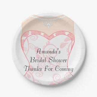 Bridal Shower, bachelorette party Paper Plate