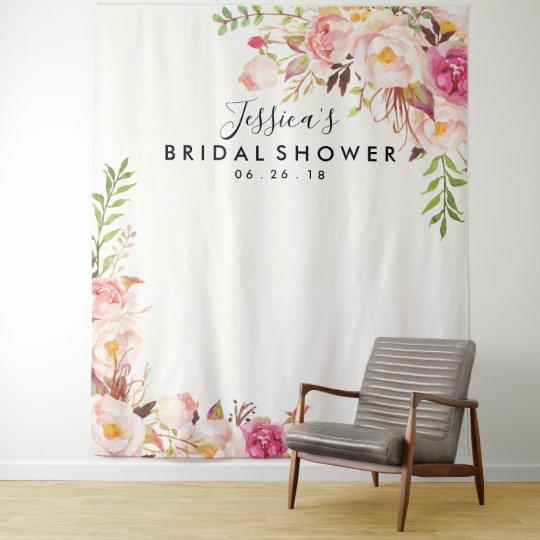 Bridal Shower Backdrop Photo Prop Photo Booth Zazzlecom