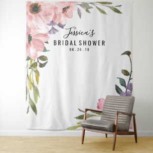bridal shower backdrop photo prop photo booth
