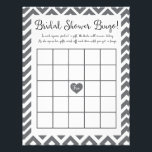 "Bridal Shower Bingo Game Letterhead<br><div class=""desc"">Bridal shower bingo game great for any bridal shower.  Have each guest guess an item the bride-to-be will receive in each square.  As she opens her gifts,  guests mark off each item until someone gets a bingo!  A great way to keep guests entertained during gift opening.</div>"