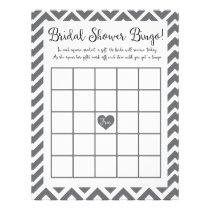 Bridal Shower Bingo Game Letterhead