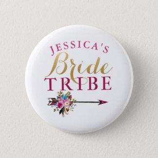 Bridal Shower Bride Badges Bachelorette Tribe Pins