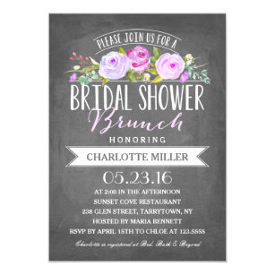 Brunch bridal shower invitations announcements zazzle bridal shower brunch bridal shower invitation filmwisefo